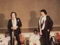 Feroz Khan introducing Mahesh Gadhvi at Janbaaz Premiere