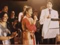 Mahesh performing along with Amitabh Bachchan