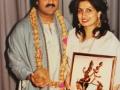 Mahesh & Nitu Honoured by Indian Music Academy