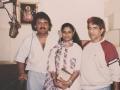 Mahesh Recording with Sonik Omi