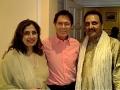 Mahesh & Nitu with Cliff Richard