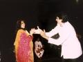Nitu performing along Amitabh Bachchan